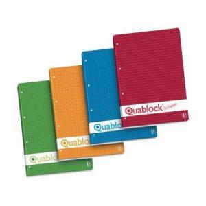 QUABLOCK A4 - Quadretto 5MM. - senza margini